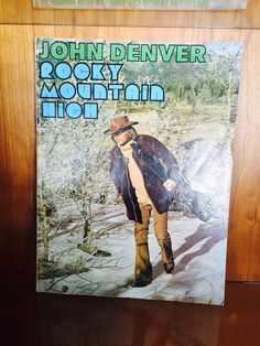 Vintage John Denver Rocky Mountain High Song Music Book For Piano And Guitar 1970s by missenpieces on Etsy