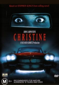 Christine - I LOVE this film. I always wished I had a relationship similar to the one that Arnie did with his car. HOWEVER, it would not be a murderous one or where I became possessed and crazy. You know, one of those relationships where you can get in your car, talk to it, and tell it all of your wishes, dreams, problems, and random thoughts, and it will take you to very special locations...some that most people don't know that exist...