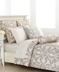 New comforter, love the classic yet airy feeling.