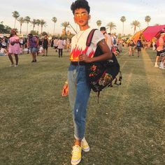 """591.3k Likes, 2,831 Comments - Bretman Rock (@bretmanrock) on Instagram: """"Chella 3  it's been lit thus far... my bag is full of makeup I'm ready to move into Coachella"""""""