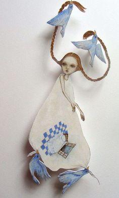 Maki Hino paper doll