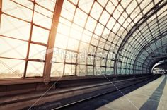 Railway station Royalty Free Stock Photo