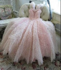pink dress... wow