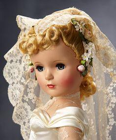 Old Dolls, Antique Dolls, Vintage Dolls, Doll Toys, Baby Dolls, Victorian Bride, Winter Bride, Bride Dolls, Bride Portrait