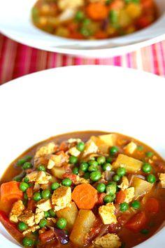 Indiase curry met tofu