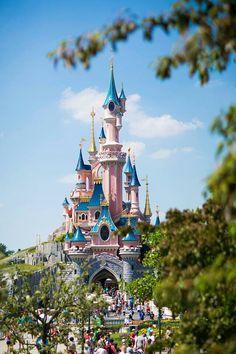 Disneyland Paris. Sleeping beauty castle #Disney 'Le Château de la Belle au Bois Dormant'