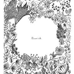 #tbt to my very first botanical line drawing. I've come a long way since this, but it's still a favorite.
