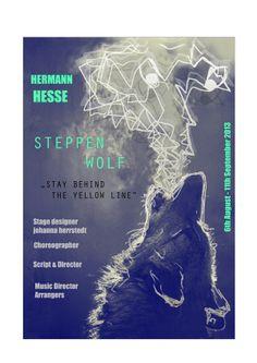 Poster for theater by Marta Sucharek, via Behance