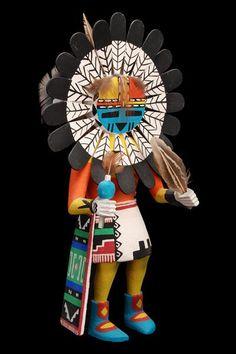 Hopi Sun Katsina doll