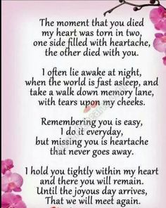 I miss you mom. How am I supposed to go on without you? I think about you every minute and I can't stand not seeing you. Now Quotes, Life Quotes Love, Hurt Quotes, Love You Mum Quotes, Year Quotes, The Words, Rip Daddy, Rip Mom, Missing Daddy