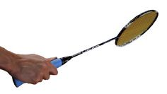 Backhand Badminton Grip from the back