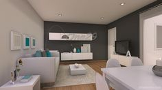 Ayuda distribucion salon comedor cuadrado de 20 m2 | Decorar tu casa es facilisimo.com