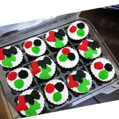 Uae national day cupcake