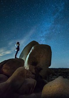Joshua Tree National Park is the perfect place to see the Milky Way