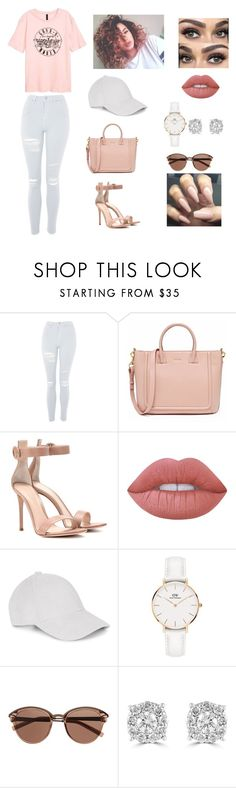 """Don't Trust A Lonely Woman With The One You Love."" by crazy-for-1d-5sos ❤ liked on Polyvore featuring Topshop, Gianvito Rossi, Lime Crime, Le Amonie, Daniel Wellington, Witchery and Effy Jewelry"