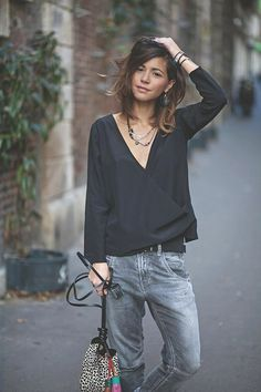 Perfect Summer Look - Latest Casual Fashion Arrivals. The Best of clothes in SUMMER OUTFİTS, Perfect Summer Look - Latest Casual Fashion Arrivals. The Best of clothes in Looks Street Style, Looks Style, All Black Outfits For Women, Clothes For Women, Look Fashion, Fashion Outfits, Womens Fashion, Fashion Blogs, Fashion Quotes