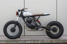 "8negro: Yamaha TW200:: ""The Bullet II"":: Sean SpeedShop."