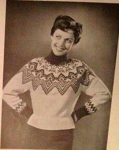 Grønlenderkofte Vintage Knitting, Hand Knitting, Embroidery Patterns, Knitting Patterns, Norwegian Knitting, Icelandic Sweaters, Sweater Weather, Men Sweater, Jumper