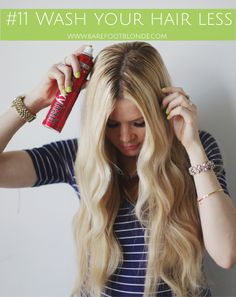 13 Ways To Make Your Hair Grow Barefoot Blonde by Amber Fillerup Clark
