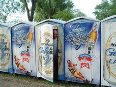 Advertise On Our Portable Toilets -  Porta Potty Advertising | Portable Restroom Advertising | Outdoor Event Advertising    http://www.123portabletoiletrental.com/general/advertise-portable-toilets/
