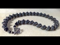 "Cellini Spiral -  A ""How to "" video by Bronzepony Beaded Jewelry"