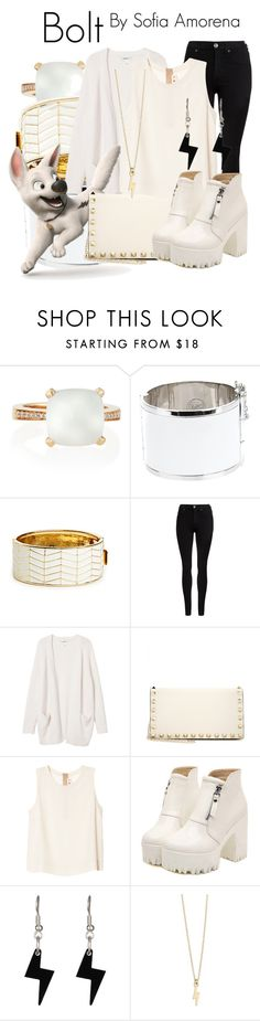 """""""Bolt"""" by sofiaamorena ❤ liked on Polyvore featuring Frederic Sage, McQ by Alexander McQueen, House of Harlow 1960, Dr. Denim, Monki, Valentino, Marni, Dr. Martens, Tatty Devine and Z Designs"""