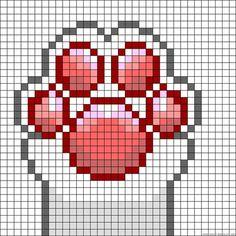 ideas crochet cat bookmark pattern plastic canvas for 2019 Pixel Art Chat, Pixel Art Grid, Cross Stitch Charts, Cross Stitch Designs, Cross Stitch Patterns, Cross Stitching, Cross Stitch Embroidery, Kawaii Cross Stitch, Modele Pixel Art