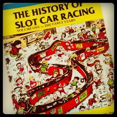 Classic book. The History of Slot Car Racing