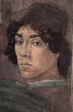 Filippino Lippi - self portrait