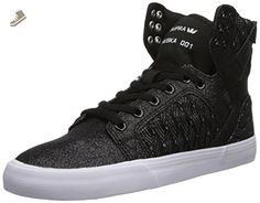 Skytop Skate Shoe - Women's Black/White/White 9.0