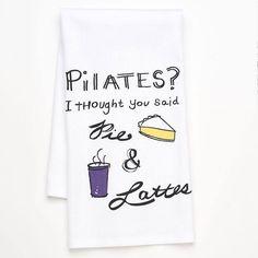 Pilates - I thought you said pie & lattes