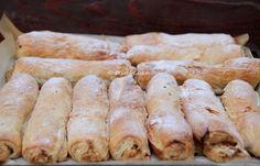 Strudel, Sausage, Deserts, Meat, Sausages, Postres, Dessert, Plated Desserts, Desserts
