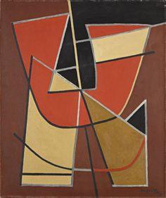 Alberto Magnelli (1881-1978) Composition, 1962