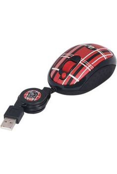 Mad For Plaid Mouse By A Tech #red, #design, #pinsland, https://apps.facebook.com/yangutu