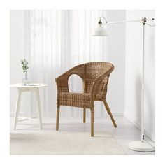 IKEA AGEN chair Handwoven; each piece of furniture is unique.
