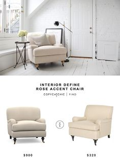 interior define rose accent chair   copy cat chic uttermost dayla indigo accent chair   dimmick living room      rh   pinterest