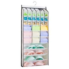 All-In-One 31 Pockets Multilayer Zipper Gate Storage Bags Hanging Closet Cabin Bedroom Kitchen Diversified Pocket Grid Organizer