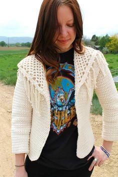 107b60a65130a5 Sans Limites Crochet  The Boho Jacket Crochet Jacket