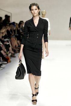 Feminine suit