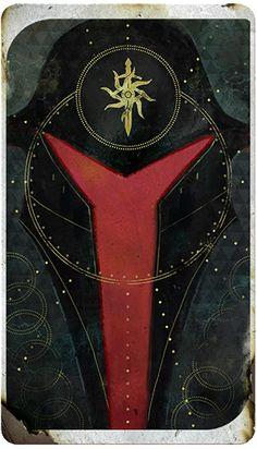 Dragon Age Import Character tarot card