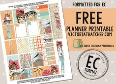 Free Printable Nothing But Good Vibes Planner Stickers from Victoria Thatcher