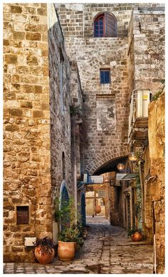 Old Jaffa Street: Photo by Photographer Andrey Smeyan - photo.net