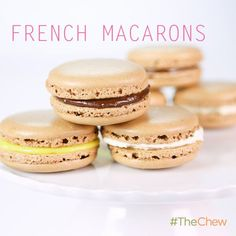 Carla Hall's Chocolate French Macarons! #TheChew #Easter