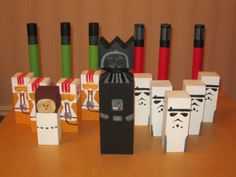 Star Wars Kubb set.