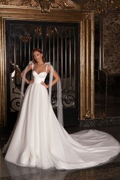 Hey brides-to-be, get ready to pin the dresses in the Edem 2020 Bridal Collection by WONÁ. Boho Wedding Dress, Dream Wedding Dresses, Bridal Dresses, One Shoulder Wedding Dress, Wedding Gowns, Mermaid Wedding, Tulle Wedding, Fashion Wedding Dress, Weeding Dresses
