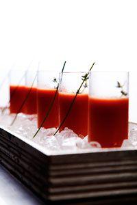 sopinhas de tomate