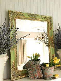 Nursery Mirror White Shabby Chic Mirror Ornate Baroque Bathroom Mirror  Decorative Wall Hanging Mirrors | Etsy Finds | Pinterest | Shabby chic  mirror, ...
