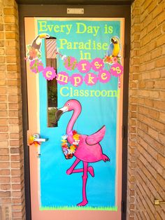 Teacher appreciation door for 2nd grade. Used items from Dollar store and Cricut to cut out letters.
