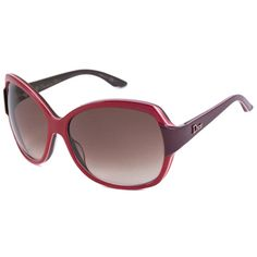 @Overstock - These Christian Dior Sunglasses are an oversize rectangular plastic frame with contrasting temples and contrast piping along the edge. The Dior logo is featured on the temples.http://www.overstock.com/Clothing-Shoes/Christian-Dior-Womens-Dior-Zaza-1-Rectangular-Sunglasses/7594500/product.html?CID=214117 $154.99