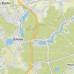 """Detaillierte Karten und GPS-Navigation zur Fahrradtour """"Biwakplatz Mönchwinkel –…"""